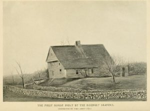 house built by Drapers in Roxbury