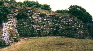 ruins of Kilpeck Castle