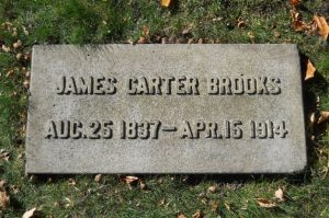 James Gordon Carter Brooks, grave