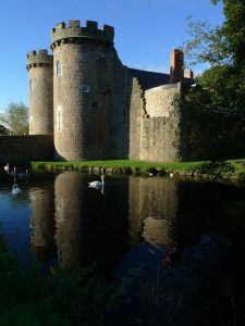 Whittington Castle, Oswestry, Shropshire, Vaughan