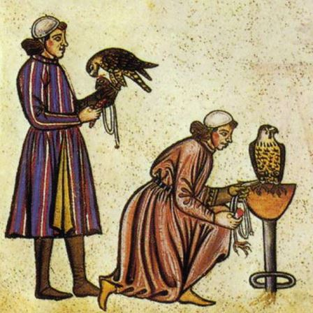 medieval falconers