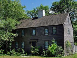 the seventeenth century John Chase house in West Newbury Massachusetts