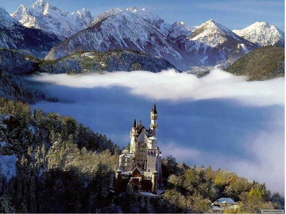 bavaria, mountains, germany