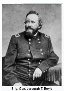 Jeremiah Tilford Boyle, abolitionist, union general, civil war