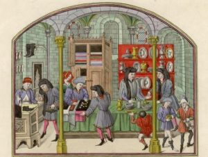 medieval shopkeepers