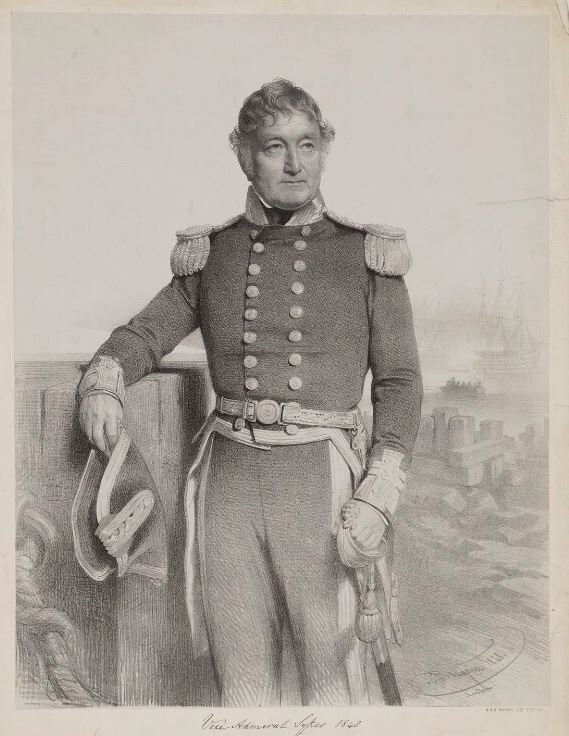 Vice Admiral John Sykes