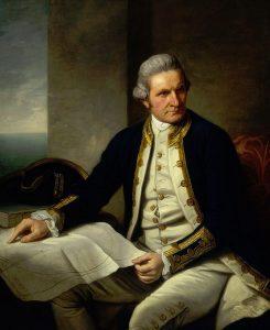 Captain James Cook , explorer, navigator