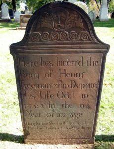 grave of Henry Freeman Sr.