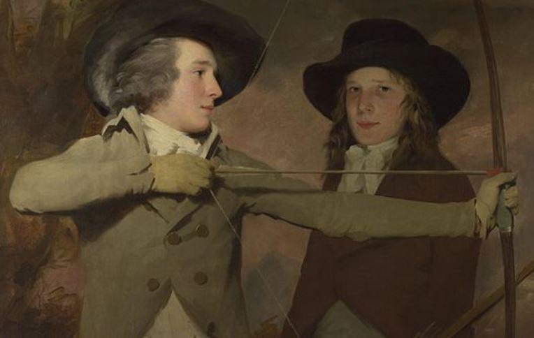 robert and ronald raith, the archers