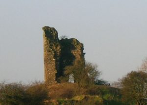 Auchenharvie Castle