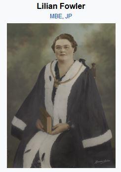 Elizabeth Lilian Maud Fowler