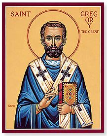 pope gregory, saint
