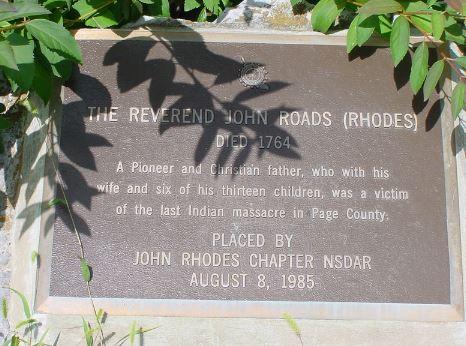 Reverend John Rhodes