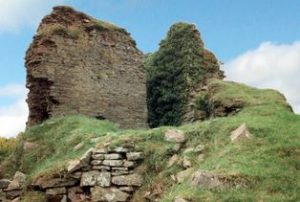 ruins of castle clifford