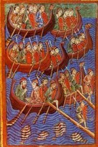 sea faring, danes, vikings