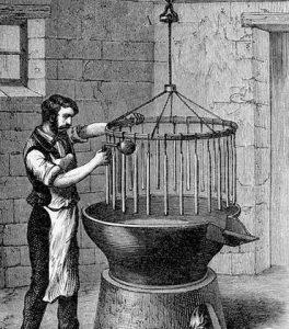 medieval candle maker