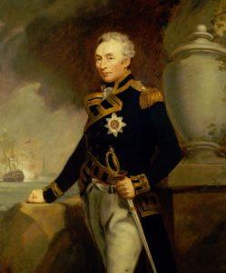 sir john gore, admiral