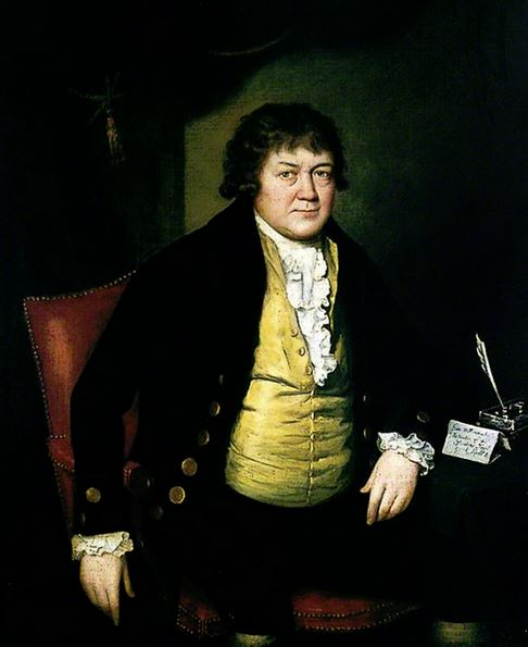 Tate Wilkinson by Stephen Hewson (active 1768–1812)