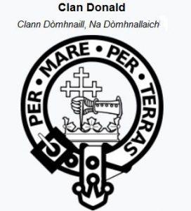 Clan MacDonald Badge