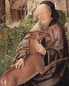 Saint Giles, hermit