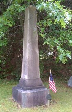 Abraham Drake IV memorial in New Hampshire