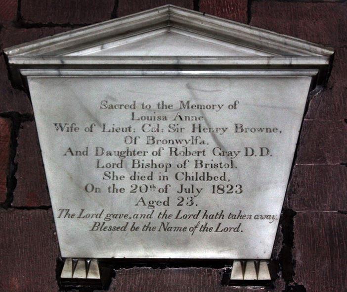 Memorial of Louisa Anne Browne