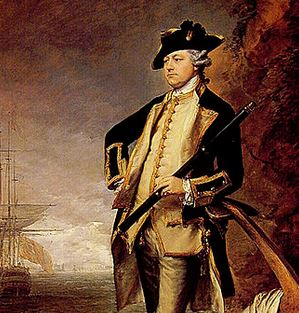 Admiral Augustus John Hervey, 3rd Earl of Bristol