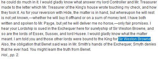 King Khenry VIII letter