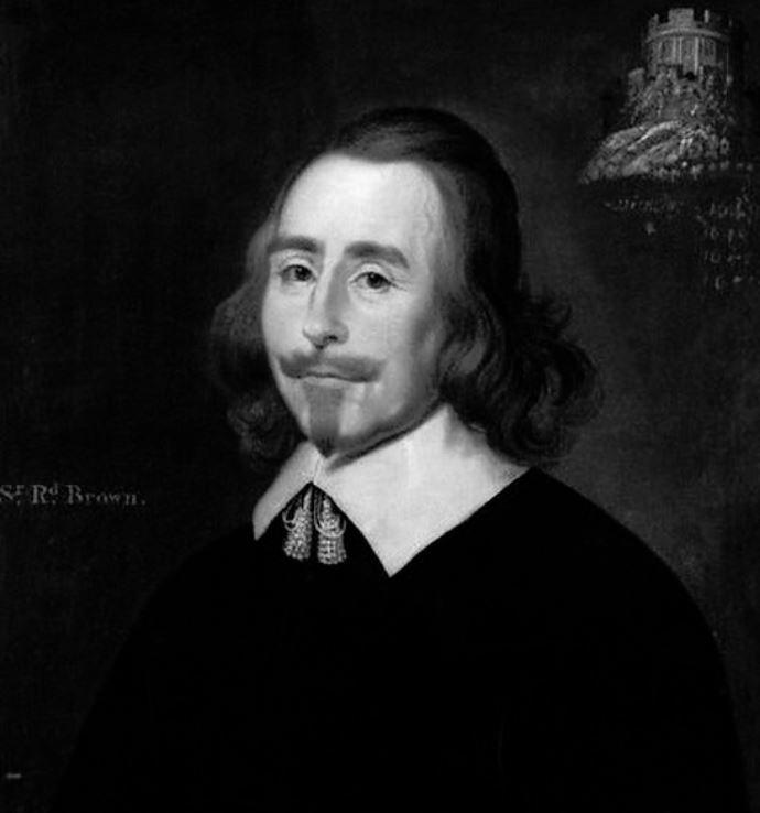Sir Richard Brown, 1st Baronet