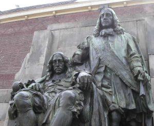 Johan and Cornelis de Witt, Dordrecht, statue
