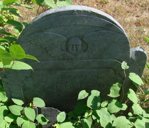 grave of Oliver Farmer