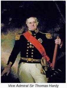 Vice-Admiral Sir Thomas Masterman Hardy, 1st Baronet