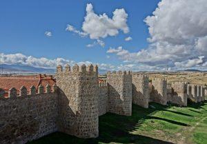 walled city in Spain