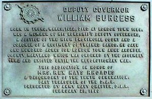 William Burgess Memorial