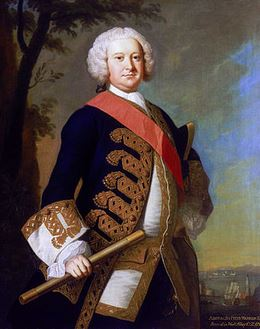 Admiral Sir Peter Warren